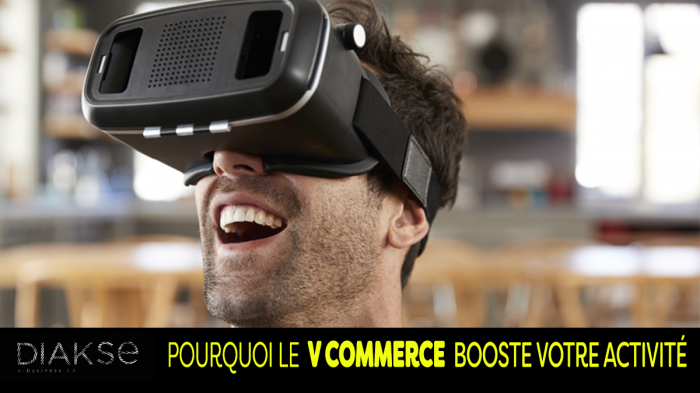 le marketing digital est bouleversé par le V-commerce