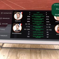 La réalité virtuelle même à Roland Garros