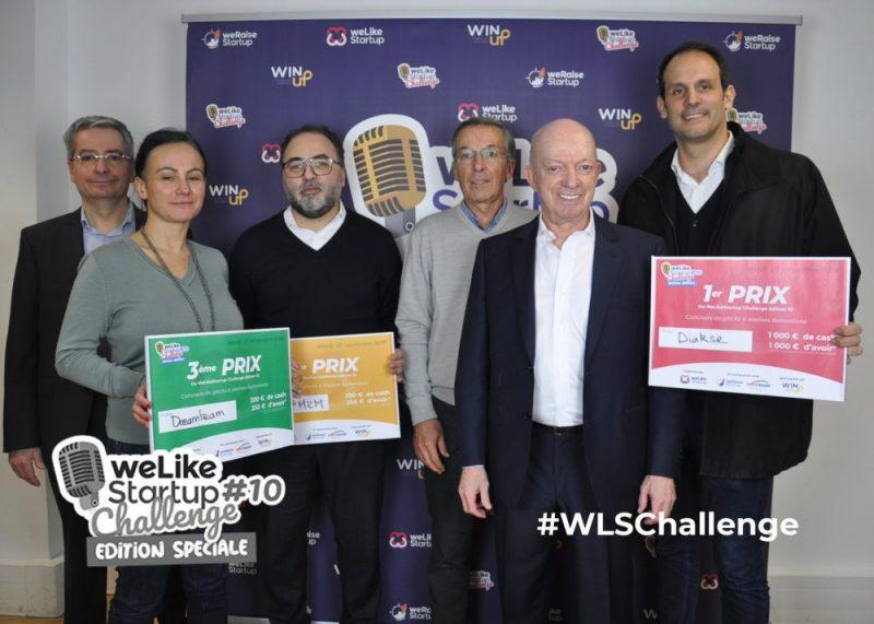 DIAKSE GAGNANT DE LA 1OÈME ÉDITION DU WELIKESTARTUP CHALLENGE !