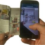 scan d'objets ou d'un QR code pour arriver sur la boutique virtuelle